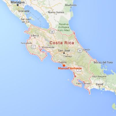 MAP - Costa Rica-01