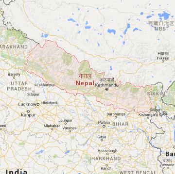MAP - Nepal-01