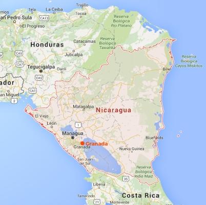 MAP - Nicaragua-01
