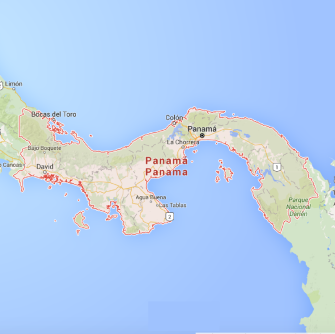 MAP - Panama-01