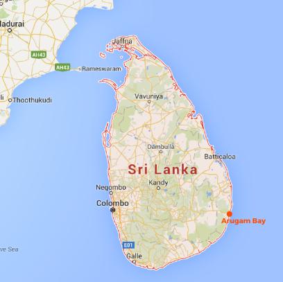 MAP - Sri Lanka-01