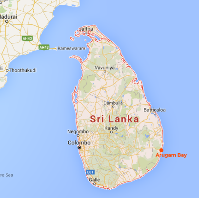 MAP - Sri Lanka-01